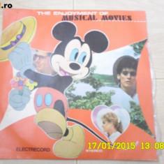 MUSICAL MOVIES ENJOYMENT OF disc vinyl lp Orchestra simfonica ILARION IONESCU - Muzica soundtrack electrecord, VINIL