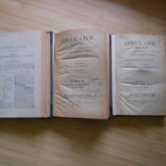 HAMANGIU SI GEORGEAN--CODUL CIVIL ADNOTAT - VOL. 6, 8, 9 - Carte Drept civil