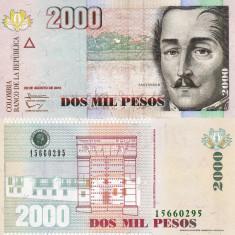 COLUMBIA 2.000 pesos 2013 UNC!!!