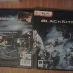 Blacksite - Joc PC (GameLand) - Jocuri PC, Shooting, 16+
