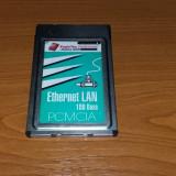 ETERNET LAN 100 BASE, PCMCIA, EAGLE TECH - Adaptor PCMCIA
