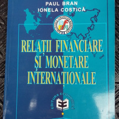 RELATII FINANCIARE SI MONETARE INTERNATIONALE - Carte despre fiscalitate