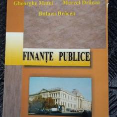 FINANTE PUBLICE - Carte despre fiscalitate