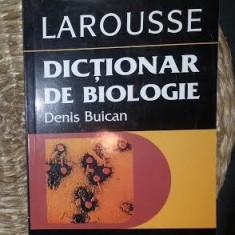 Dictionar de biologie  / Denis Buican