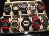 Colectie 10 ceasuri G-Shock originale, Sport, Quartz, Casio