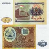 TADJIKISTAN 100 ruble 1994 UNC!!!