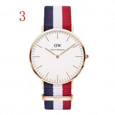 Cumpara ieftin Ceas Barbati Casual Fashion Daniel Wellington DW QUARTZ Nou 8 Modele CALITATE