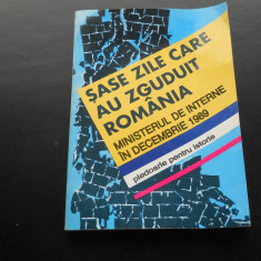 SASE ZILE CARE AU ZGUDUIT ROMANIA VOL I - Carte Retete de post
