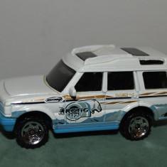 Macheta / jucarie masinuta de metal Mattel 2000 Land Rover Discovery, 7 cm, 1:60