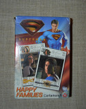 Joc de carti Happy Families, Superman returns, 4 in 1, complet, cu instructiuni