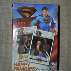 Joc de carti Happy Families, Superman returns, 4 in 1, complet, cu instructiuni - Colectii