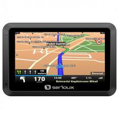 "GPS Serioux UrbanPilot UPQ430, diag 4.3"", Igo Primo Truck, harti Full Europa 2016, Toata Europa, Fara actualizare, Redare audio: 1, Touch-screen display: 1"