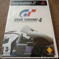Gran Turismo 4, GT 4, PS2, original! Alte sute de jocuri! - Jocuri PS2 Sony, Curse auto-moto, 3+, Multiplayer