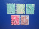 TIMBRE VECHI INDOCHINA, Stampilat