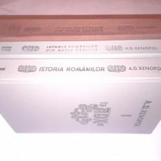 A.D.XENOPOL - ISTORIA ROMANILOR DIN DACIA TRAIANA Vol.1.2.3. - Carte Istorie