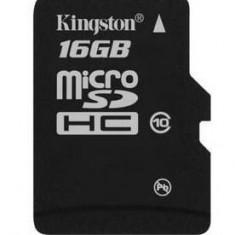 Card de Memorie Micro SD Kingston 16GB Clasa 10 - Card memorie