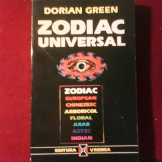 Dorian Green Zodiac Universal (european, chinezesc, arab, aztec, indian, floral) - Carte astrologie