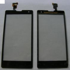 Geam cu Touchscreen Huawei G740 / Orange YUMO Negru Original - Touchscreen telefon mobil