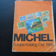 CATALOG MICHEL EUROPA DE EST 1985