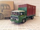 Macheta camion Bernard 19A-19DA Mayer Nancy cu 2 containere  scara 1:43