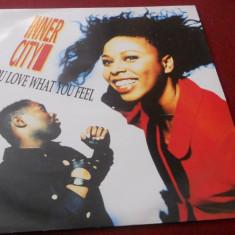 DISC VINIL INNER CITY - DO YOU LOVE WHAT YOU FEEL - Muzica Hip Hop
