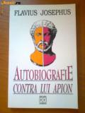 W4 FLAVIUS JOSEPHUS - AUTOBIOGRAFIE CONTRA LUI APION