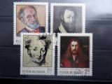 LP776-Aniversari I, pictori-Serie completa stampilata 1971