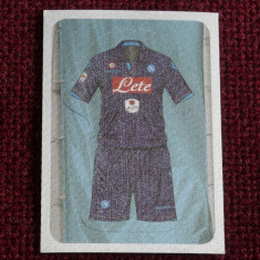 Cartonas / Sticker - Echipament de fotbal Napoli - Calciatori 2014 - 2015 - Cartonas de colectie