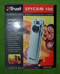 Trust Spyc@am Camera foto video digitala spycam webcam vintage, cutia originala