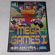 SEGA MEGA DRIVE GAMES I, SUPER HANG-ON, WORD CUP ITALIA 90 - Jocuri Sega