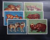 LP785-pui de animale salbatice-Serie completa stampilata 1972