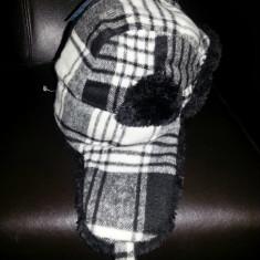 Best Price 201 - Caciula Herlin Black (Fabricat in Danemarca) - Caciula Dama Kangol, Culoare: Negru, Marime: Marime universala