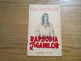 RAPSODIA TIGANILOR * Stagiunea 1956 - 1957 - Teatru Muncitoresc C.F.R.