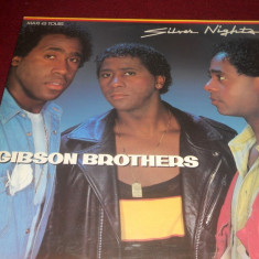DISC VINIL GIBSON BROTHER - SILVER NIGHTS - Muzica Dance