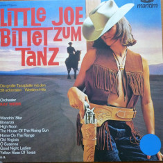 Little Joe, Disc vinil, muzica filme western, Bonanza ; High Noon - Muzica Country