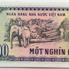 Bancnota 1000 Dong - VIETNAM, anul 1988 UNC - bancnota asia
