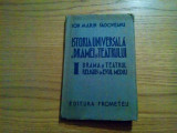 DRAMA SI TEATRU RELIGIOS IN EVUL MEDIU - Ion Marin Sadoveanu - 1942, 132 p.