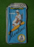 Cutie veche (anii '80) de Mouline, Firul Rosu, Talmaciu Sibiu, 17x9cm, carton