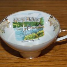 Ceasca mica de ceai, de colectie, Bavaria Handgemalt/ handmade HELMA, Bareamer