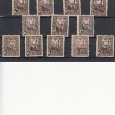 ROMANIA 1918, LOT TIMBRE MVIR, LOT 1 RO - Timbre Romania, Nestampilat