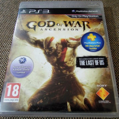 Joc God of War Ascension, PS3, original, alte sute de jocuri! - Jocuri PS3 Sony, Shooting, 18+, Single player