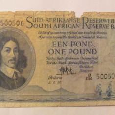 CY - Pound 1952 Africa de Sud RARA