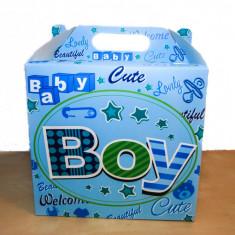 CUTIE TRUSOU BABY BOY/BABY GIRL, MARTURIE BOTEZ CUTIUTA, CUTII - Trusou botez