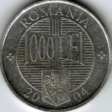 Monede 1000 lei din 2001, 2002, 2003 şi 2004 - Moneda Romania