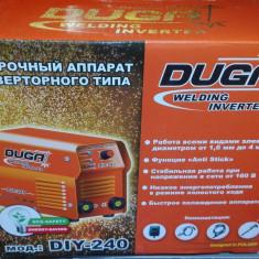 Promotie! Aparat sudura tip Invertor MMA DUGA DIY-240 Amperi