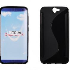 Husa HTC One A9 TPU S-LINE Black - Husa Telefon HTC, Negru, Gel TPU, Fara snur, Carcasa