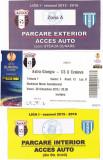 Bilet meci fotbal+2 tichete acces parcare ASTRA GIURGIU - CSU CRAIOVA 30.10.2015