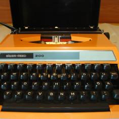 Masina de scris SILVER RED 200 JAPAN+banda noua de scris