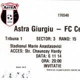 Bilet meci fotbal  ASTRA GIURGIU - CELTIC GLASGOW 06.11.2014