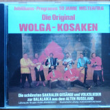 Muzica cazacilor de pe Volga , 1 CD original Germania